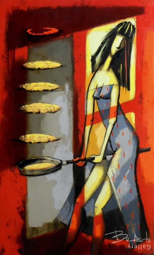 Evgen Semenyuk, The Pancake Girl