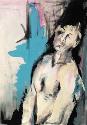 Maciej Hoppe, Man in blue