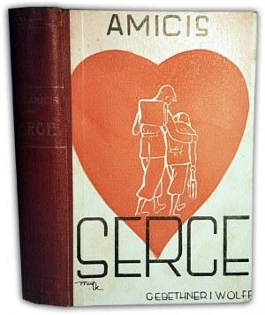 AMICIS- SERCE wyd. 1933