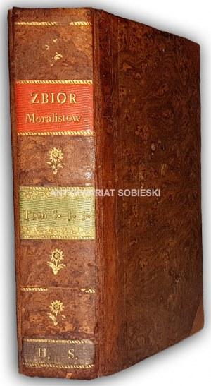 KRÓTKI ZBIÓR STAROŻYTNYCH MORALISTÓW t.3-5 wyd. 1784