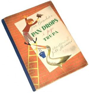 BRZECHWA -PAN DROPS I JEGO TRUPA wyd. 1949r,