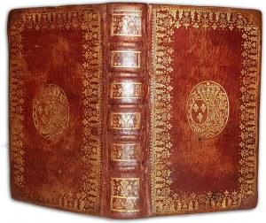 SUPEREKSLIBRIS Marii Leszczyńskiej, królowej Francji - EXERCISES ET PRIERES wyd. 1756