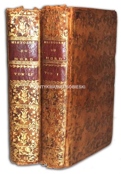 LACOMBE- ABREGE CHRONOLOGIQUE DE L'HISTOIRE DU NORD t.1-2 wyd.1762