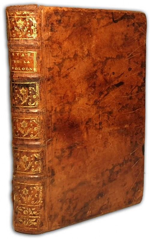 BAUDEAU - LETTRES HISTORIQUES SUR L'ÉTAT ACTUEL DE LA POLOGNE ET SUR L'ORIGINE DE SES MALHEURS wyd.1772r.