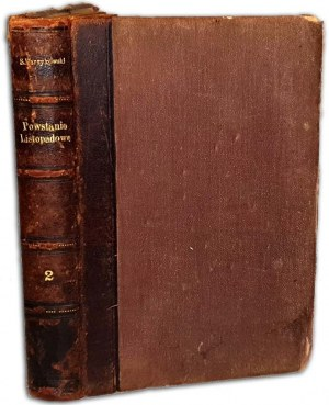 BARZYKOWSKI - HISTORYA POWSTANIA LISTOPADOWEGO t.2 wyd.1883