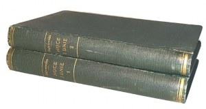 DĄBROWSKA- NOCE I DNIE t.1-2 (komplet w 2 wol.) wyd. 1953r. Dedykacja i autograf autorki