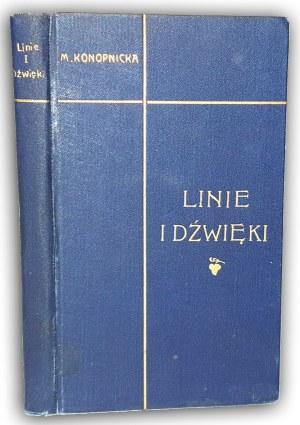 KONOPNICKA - LINIE I DŹWIĘKI wyd.1 z 1897r.