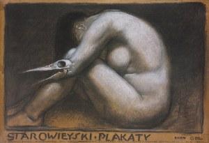 Franciszek STAROWIEYSKI (1930-2009) - projekt, Plakat do wystawy: