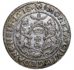Zygmunt III Waza ort 1618 SB Gdańsk