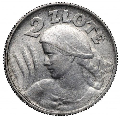 II Rzeczpospolita 2 złote 1924 H Birmingham