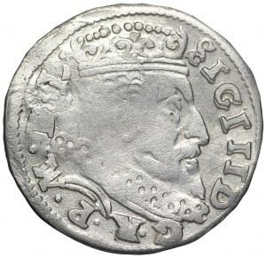 Zygmunt III Waza trojak 1601 V Łabędź
