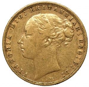 Wielka Brytania, Wiktoria, suweren 1874