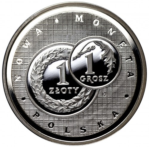Polska III Rzeczpospolita Medal 1994 Złotogrosz