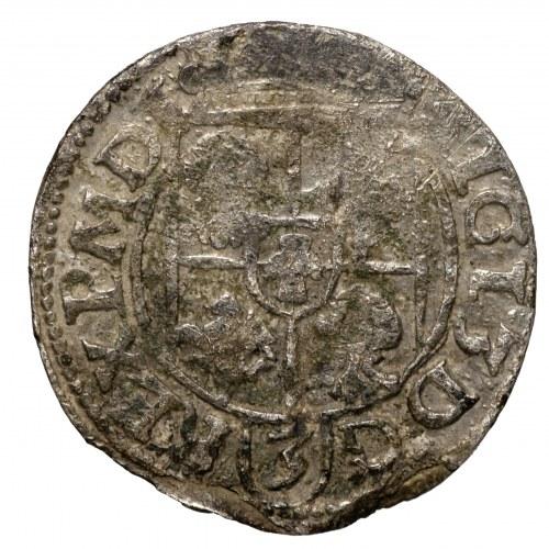 Zygmunt III Waza, półtorak 1616 Bydgoszcz, Abdank w owalu