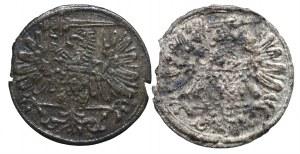 Zygmunt III Waza, zestaw 2 trzeciaków gdańskich