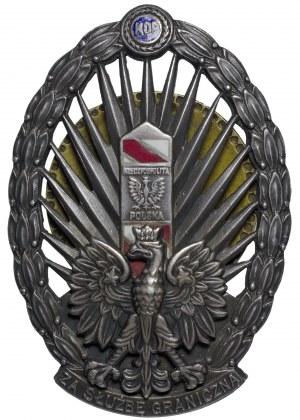 II RP Odznaka Korpusu Ochrony Pogranicza w srebrze