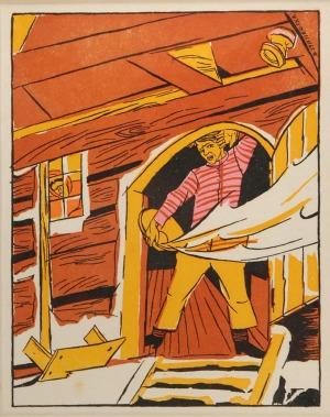 Zofia STRYJEŃSKA (1894-1976), Scena rodzajowa