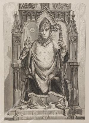 Jan MATEJKO (1838-1893)  - według, Bodzanta z Jankowa Biskup Krakowski