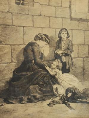 Artur GROTTGER (1837-1867)  - według, Przed więzieniem