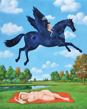 Rafał OLBIŃSKI (ur. 1943), Runaway dream, 2019