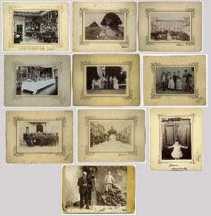 Hrabia Stanisław Kazimierz KOSSAKOWSKI (1837--1905), Atelier: WOJTKUSZKI, Kolekcja 60 fotografii, 1894-1905