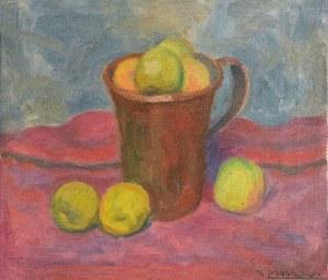 Zbigniew PRONASZKO (1885-1958), Martwa natura z jabłkami