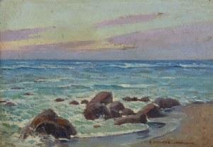 Bronisława RYCHTER-JANOWSKA (1868-1953), Brzeg morza