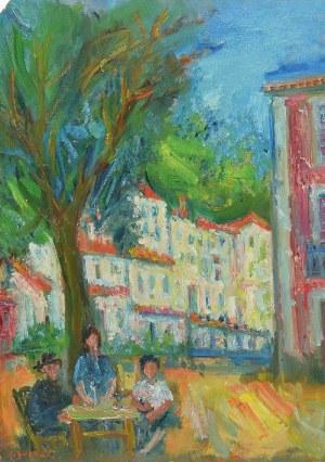 Jakub ZUCKER (1900-1981), Odpoczynek w cieniu drzewa