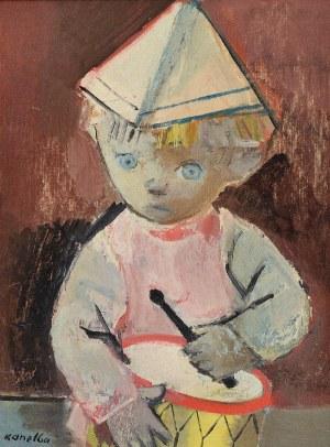 Rajmund KANELBA (1897-1960), Mały dobosz - Johnnie z bębenkiem