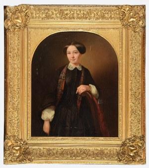 Morten Thrane BRÜNNICH (1805-1861), Portret młodej kobiety, 1853