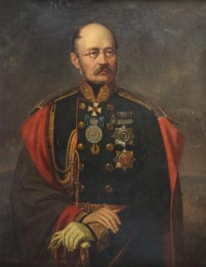 Jan Ksawery KANIEWSKI (1805-1867), Portret oficera carskiego - Księcia Mihaiła Gorczakowa, 1860