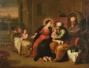 Malarz nieokreślony, zachodnioeuropejski, XIX w., Św. Anna Samotrzeć