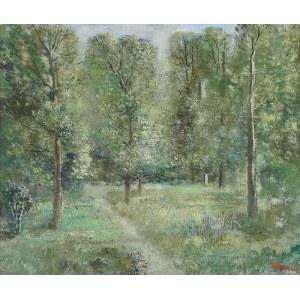Tadeusz ROMAN (1906-1983), Polana w lesie