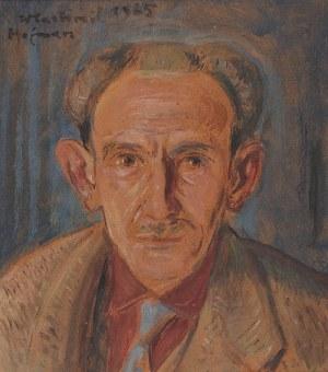 Wlastimil HOFMAN (1881-1970), Portret mężczyzny - Stanisław Penkrzyk, 1965