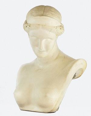 J. CHIURAZZI, 4 ćw. XIX w., Popiersie kobiety