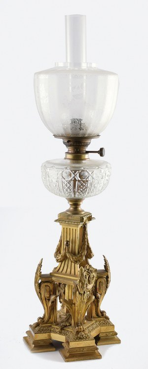 Lampa naftowa w typie II Cesarstwa