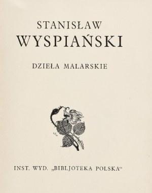 Stanisław WYSPIAŃSKI (1867-1907), Dzieła malarskie