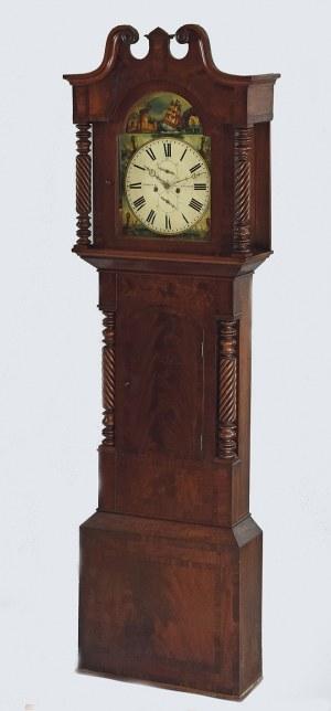 William SIMCOCK, Anglia; 1830-1850, Zegar podłogowy