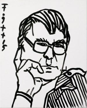 Fogtt Andrzej, PORTRET ZDZISŁAWA BEKSIŃSKIEGO, 2015