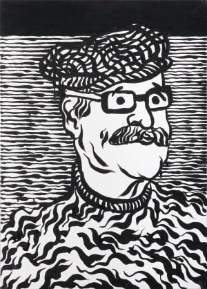 Fogtt Andrzej, PORTRET TADEUSZA BRZOZOWSKIEGO, 2015