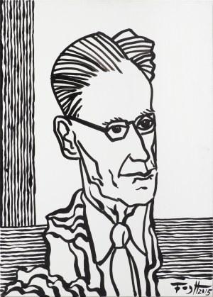 Fogtt Andrzej, PORTRET JÓZEFA CZAPSKIEGO, 2015