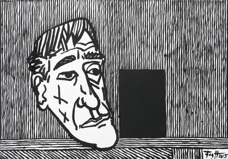 Fogtt Andrzej, PORTRET TADEUSZA KANTORA, 2015