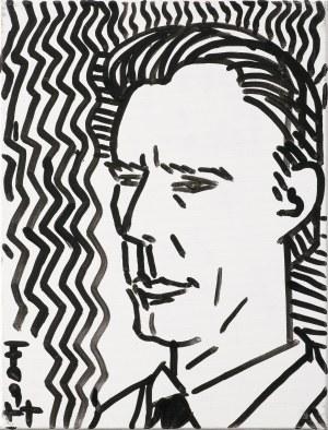 Fogtt Andrzej, PORTRET JERZEGO TCHÓRZEWSKIEGO, 2015