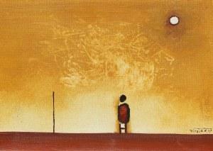 Witold K. (Leszek Wit Kaczanowski), Patrzący na słońce, 1977r.