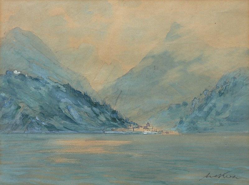 Marian Mokwa (1889 Malary - 1987 Sopot), Fiordy w Narwiku
