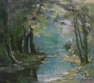 Marian Mokwa (1889 Malary - 1987 Sopot), Pejzaż