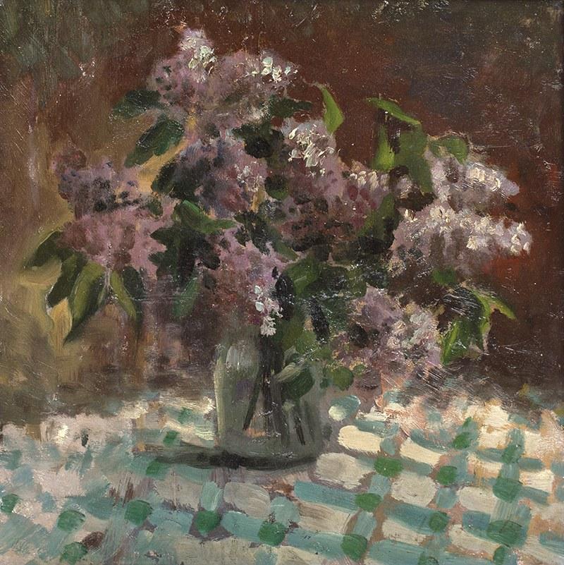 Jan Gasiński (1903 Wólka Grodziska - 1967 Gdynia), Kwiaty