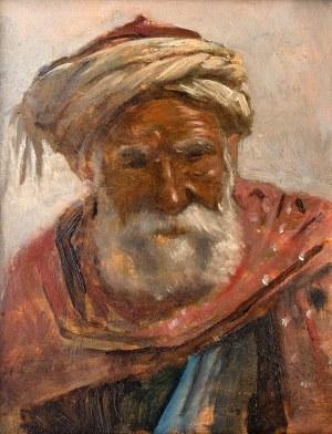 Alphons Leopold Mielich (Mielichhofer) (1863 - 1929), W turbanie