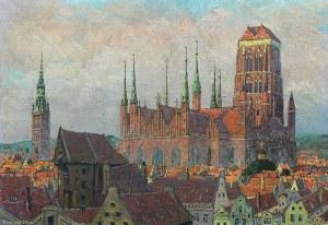 Oskar Wilda (1886-1958), Panorama Gdańska