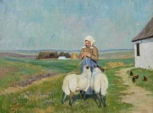Marius Nielsen (1882-1971), Na pastwisku